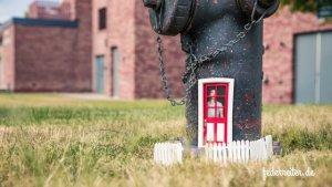 Hydrant mit Tür Schreibgruppe Federreiter Elmshorn