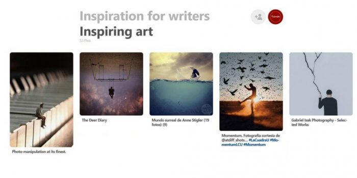 Pinterest Sammlung Inspirierende Bilder auf Pinterest Schreibgruppe Federreiter