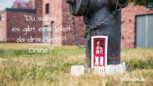 Hydrant mit Tür Federreiter-Blog Schreibgruppe Elmshorn
