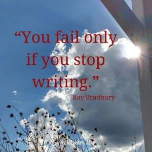 Zitat Ray Bradburg Schreibgruppe Federreiter
