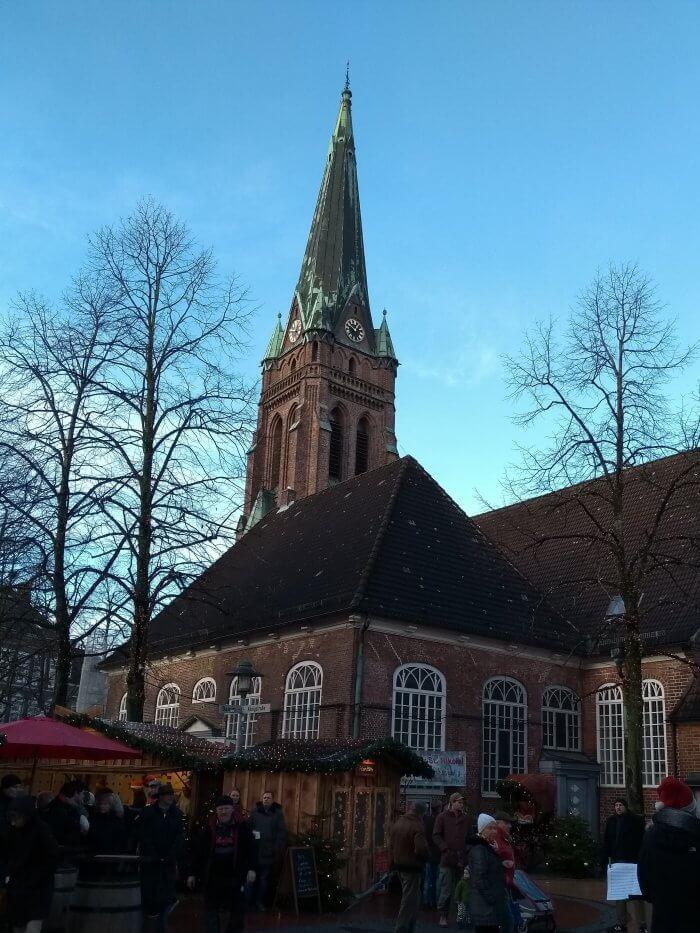 Lichtermarkt 2017 Nikolaikirche Elmshorn