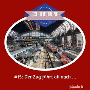 Hauptbahnhof Hamburg Federreiter Schreibübung Nr. 15