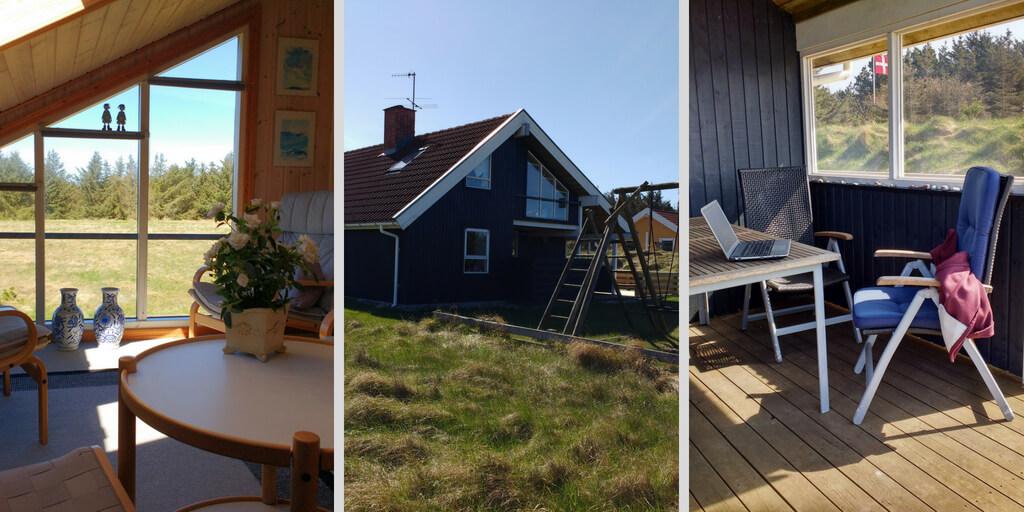 Ungestört Schreiben in einem Ferienhaus in Dänemark Schreibgruppe Federreiter