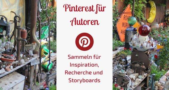 Pinterest für Autoren Sammeln für Inspiration Recherche und Storyboards Schreibgruppe Federreiter
