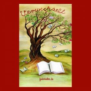 Baum mit fliegenden Büchern Schreibgruppe Federreiter